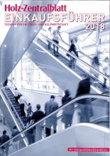 Holz-Zentralblatt Einkaufsführer Ausgabe 2018
