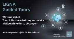 LIGNA 2019 GUIDED TOUR